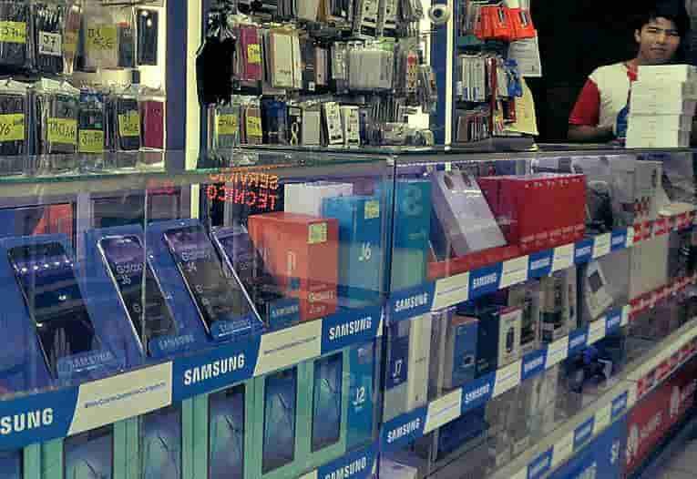 programa para tiendas de celulares y electrónica